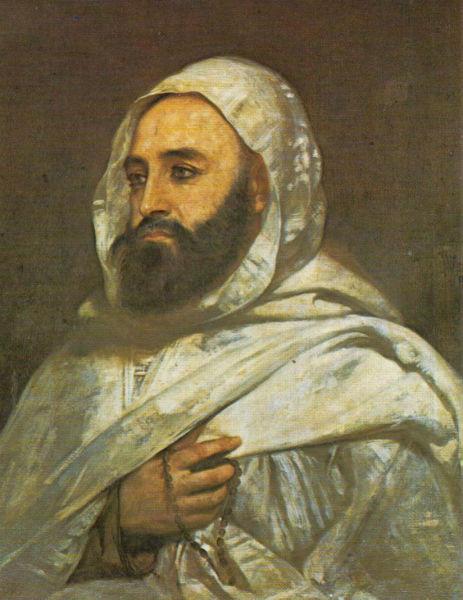Emir Abd El Kader, œuvre de Ange Tissier