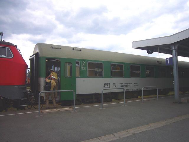 Zug vonTschechien