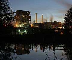 Winnington by night