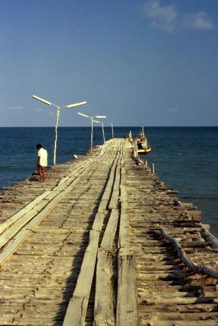 Pier at Lamai Beach