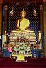 Inside  Wat Bo Phut