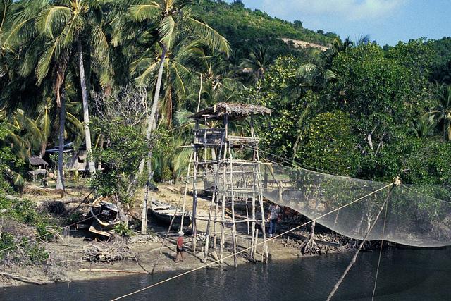 Fishing village near Bo Phut