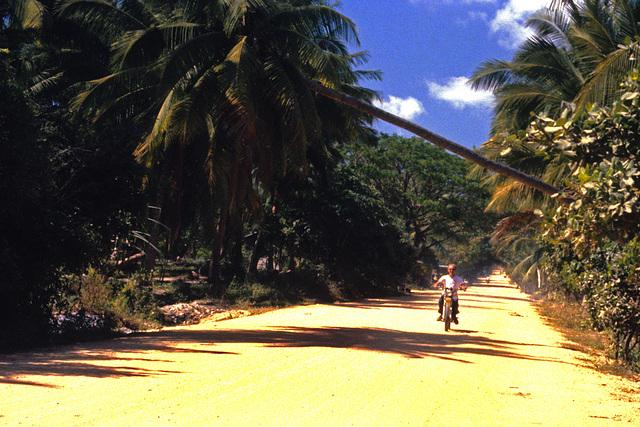 Road on Koh Samui