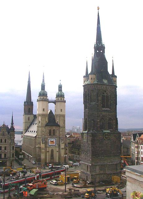 2004-11-08 02 Halle, Marktplatz