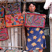 Woman Kuna - Molas for sale, Colombie