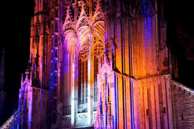 Münster Light Show