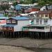 Palafitos - Habitations sur pilotis, île de Chiloe