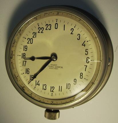 russian 24 h clock