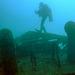Boat wreckage in the depth of 30 Meters