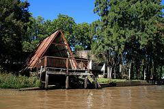 Habitation sur pilotis - Palafito au Chili