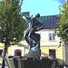 Sculpture érotique / Erotic sculpture -  Laholm / Sweden - Suède.  25 octobre 2008  -  Postérisation
