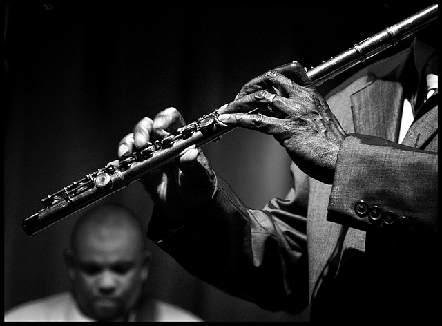 Maceo Parker - on flute