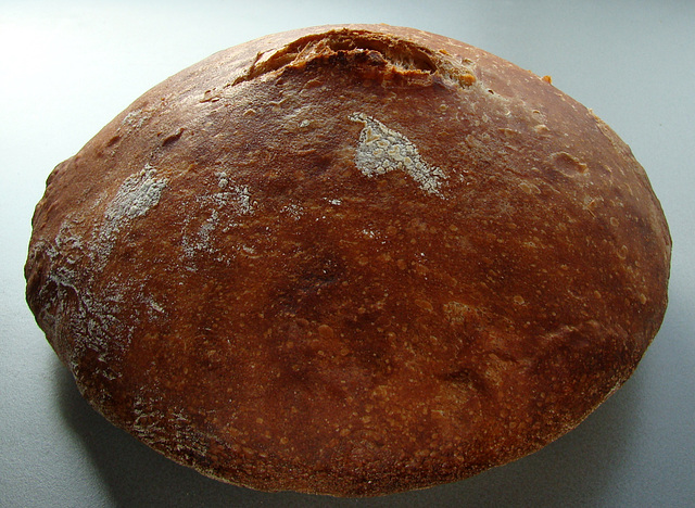 Crusty pale ale pot boule