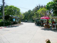 Roadside food vendors
