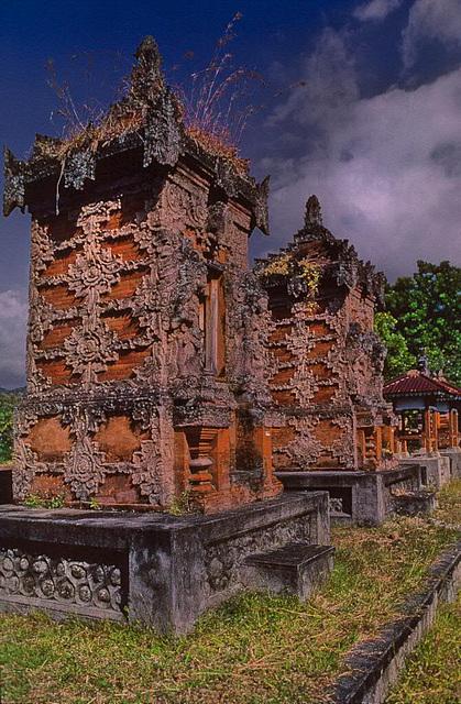 Balinese temple premises