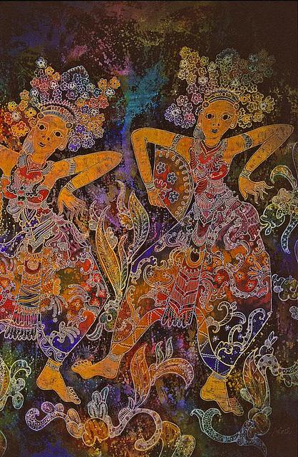 Balinese Batik painting