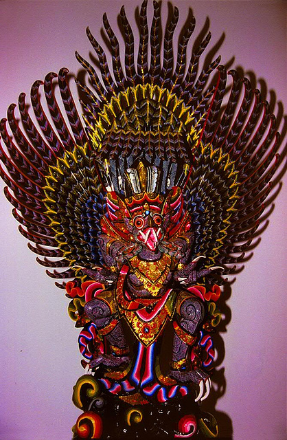 Balinese carving handicraft