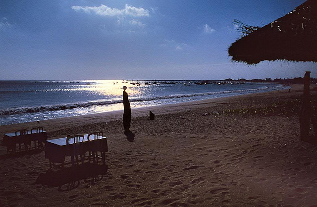 Sanur beach on Bali