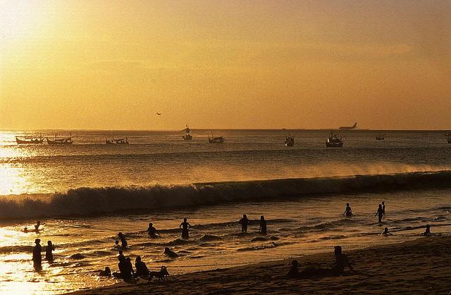 Pura Sakenan near Sanur Beach on Bali