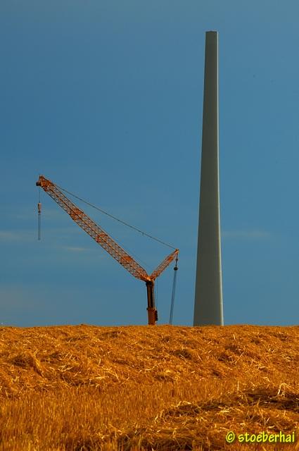 Aufbau eines Windrads