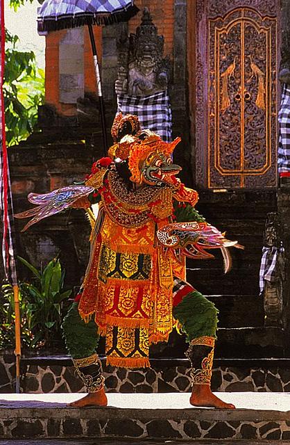 Giant bird Garuda