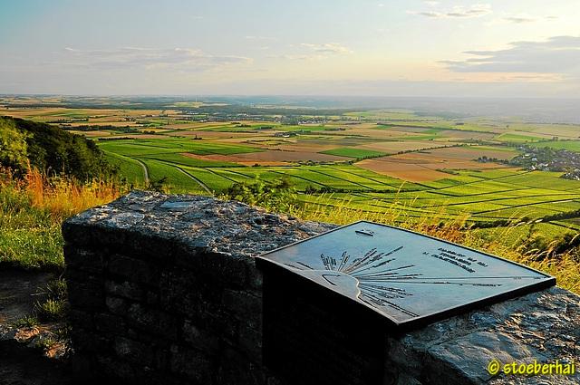 Blick vom Kappelrangen auf dem Schwanberg Richtung Südwesten