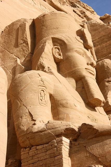 Ramsés II à Aboul Simbel