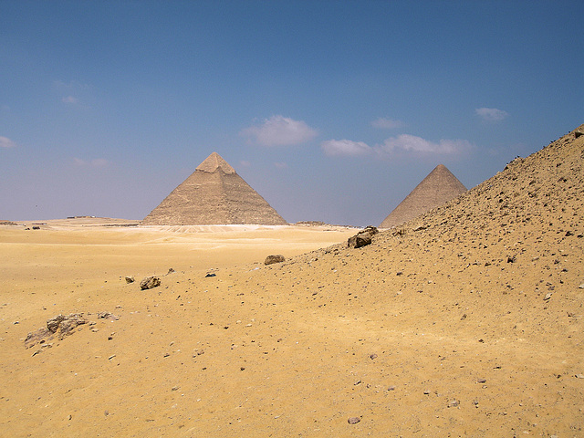 Pyramides de Khéphren et de Kheops