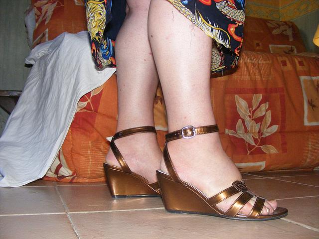 Christiane - Sandales sexy à semelles compensées