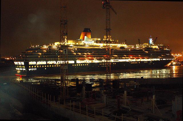 Queen Victoria in Hamburg 2007