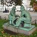 Conversation intime et amoureuse- Loving conversation.  Copenhague .  20 octobre 2008