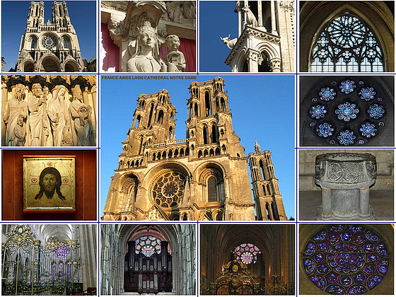 Laon Cathedral Notre Dame