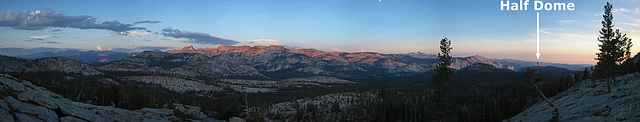 May Lake Sunset View  (13A)