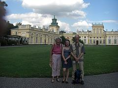 En Varsovio kun Elise kaj Georgia