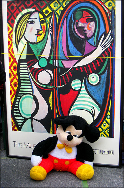 Mickey & Picasso