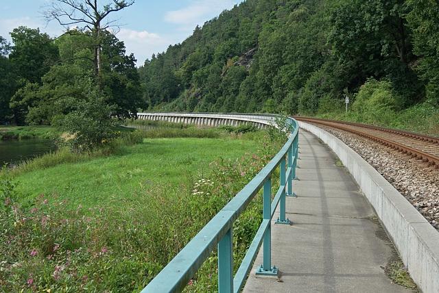 Lehnamühle -> Berga