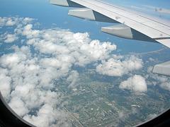 Wolken über FL
