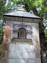 Hornacina de la Virgen de Muskilda.