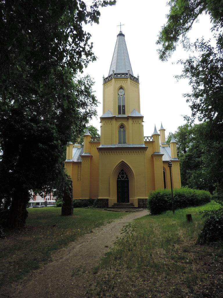 Kirche in Großbeeren von Karl Friedrich Schinkel