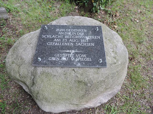 Gedenkstein 1813 - Großbeeren