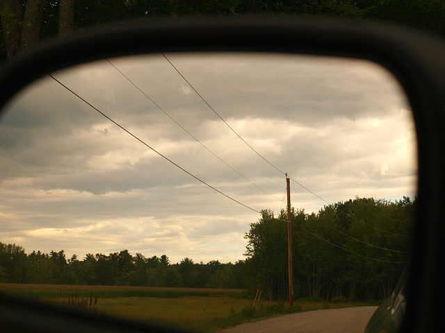 Maine in the mirror