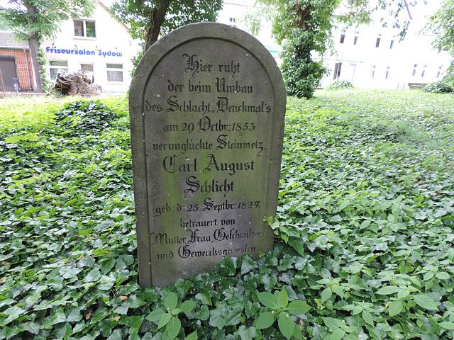 Alter Grabstein in Großbeeren