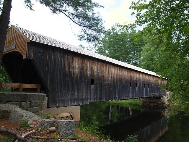 Hemlock Covered Bridge - Freyburg, Maine