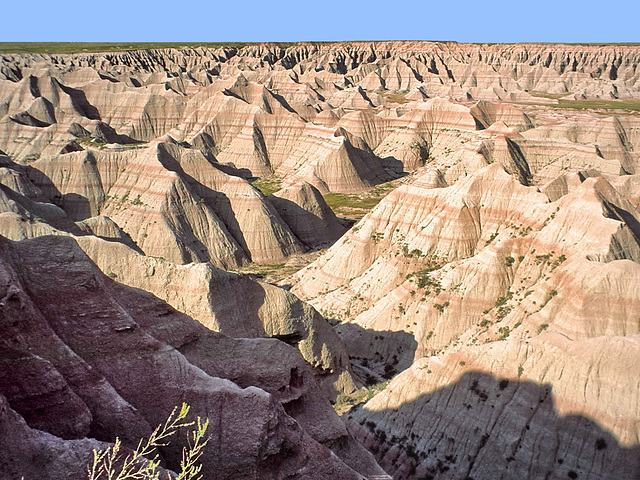 19940711-0995ac Global Overview of the Badlands NP