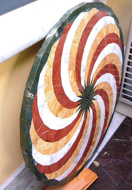 marmordisko - Marmorscheibe
