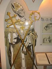 Arkiepiskopo de Riga en kastelo de Turaida.