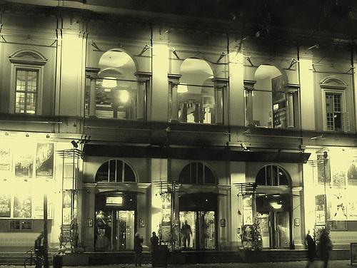 Éclairage cinématographique / Cinema lighting par mon amie Krisontème /  Copenhague - 26 octobre 2008