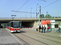 DPP #9078 at Nadrazi Holesovice, Prague, CZ, 2009
