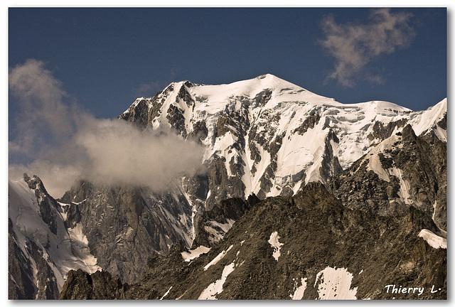 La face nord du Mont Blanc