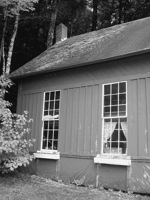 Adis antiques /  Mendon,  Vermont  USA /  États-Unis.   25 & 26 juillet 2009- N & B
